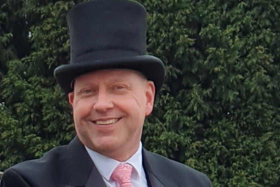 Funeral director Mark Ganner