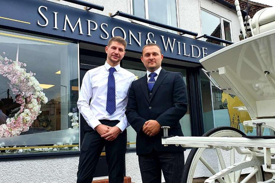 Ben Simpson and Dan Wilde