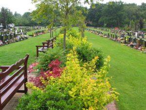Grounds at Carmountside Cemetery and Crematorium