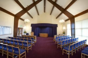 Lichfield Crematorium Chapel Inside